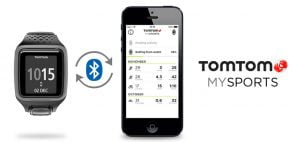 TomTom MySports applikation