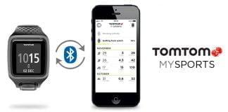 TomTom MySports applikation