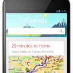 Google Now på Android-telefon