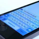 iPhone 5S SMS tastatur beskeder