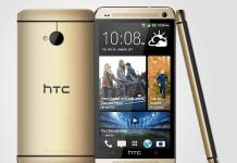 HTC One i guld
