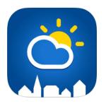 Byvejret iPhone applikation