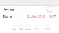 TIP: Vi bringer her et lille tip, som kan gøre din hverdag en smule nemmere, særligt hvis du bruger kalenderen i din iOS-enhed meget.