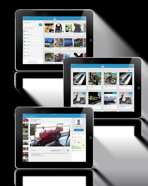 DBA – sælg og køb brugt fra din iPad