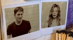 Rob Thomas og LeAnn Rimes i videoen Gasoline and Matches