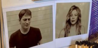 Rob Thomas og LeAnn Rimes i videoen Gasoline and Matches