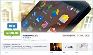 MereMobil.dk på Facebook