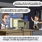 MereMobil.dk i Bitstrips