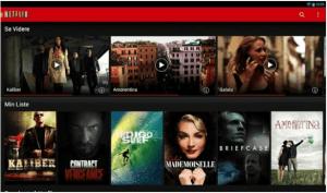 Netflix-applikation opdateret til Android