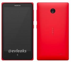Normandy Android-mobil fra Nokia lækket af @evleaks