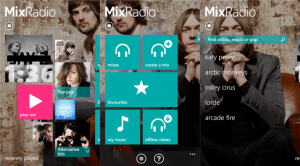 Nokia Music hedder nu Nokia MixRadio