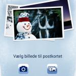 Postkortet - ny jule- og postkort applikation fra Post Danmark