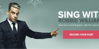 Robbie Williams medvirker i ny Telenor kampagne