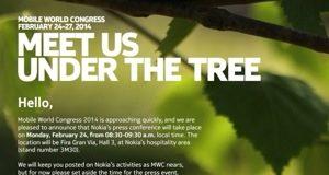 Nokia MWC pressemøde invitation