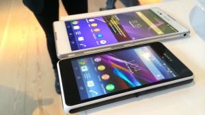 Sony Xperia T2 Ultra og Xperia E1
