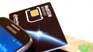 SIM-kort taletidskort