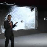 LG G Flex præsenteres under CES (Klip fra præsentation)