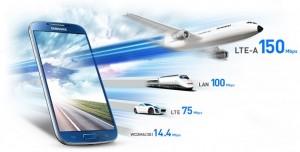 4G LTE Advanced, netværk, hastighed