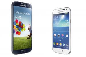 Samsung Galaxy S4 Mini og Galaxy S4