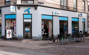 Telenor butik (Foto: Lars Nybøll)