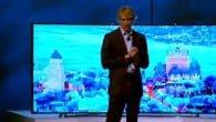 CES: Samsungs pressemøde i Las Vegas tog en uventet drejning da en top-instruktør forlod scenen midt i showet.