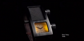 Dick Tracy, smartwatch