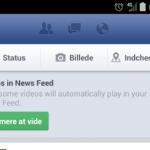 Automatisk afspilning af videoer nu på Facebook til Android