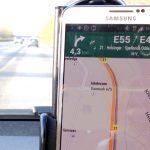 GPS navigation Galaxy Note III vej bil