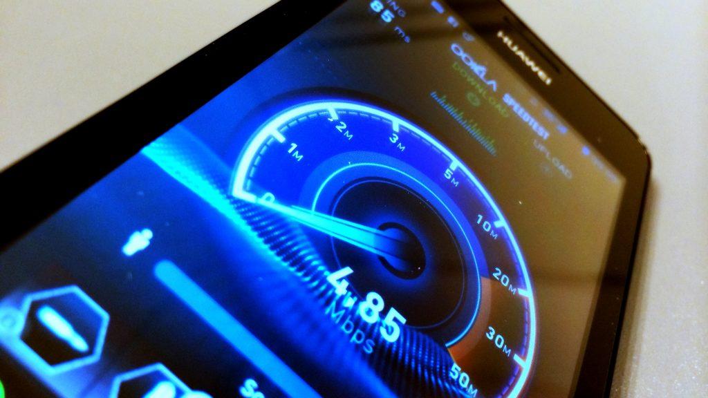Hastighed, speedtest, 3G, 4G