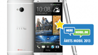 HTC One blev vinderen af titlen Årets Mobil 2013 i et tæt kapløb mellem Samsung Galaxy S4 og iPhone 5S. Det har køberne bestemt.