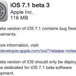iOS 7.1 beta 3 (Kilde: Macrumors.com)
