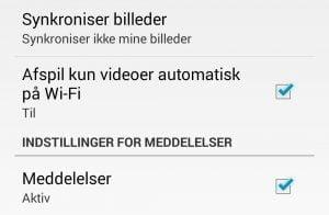 Sådan slår du automatisk video-afspilning fra på Facebook når du er på mobildata