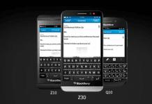 BlackBerry telefoner med BlackBerry 10 (Foto: BlackBerry)