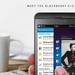 BlackBerry Z10 (Foto: BlackBerry)
