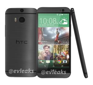 HTC One i grey lækket af @Evleaks (Kilde: Evleaks)