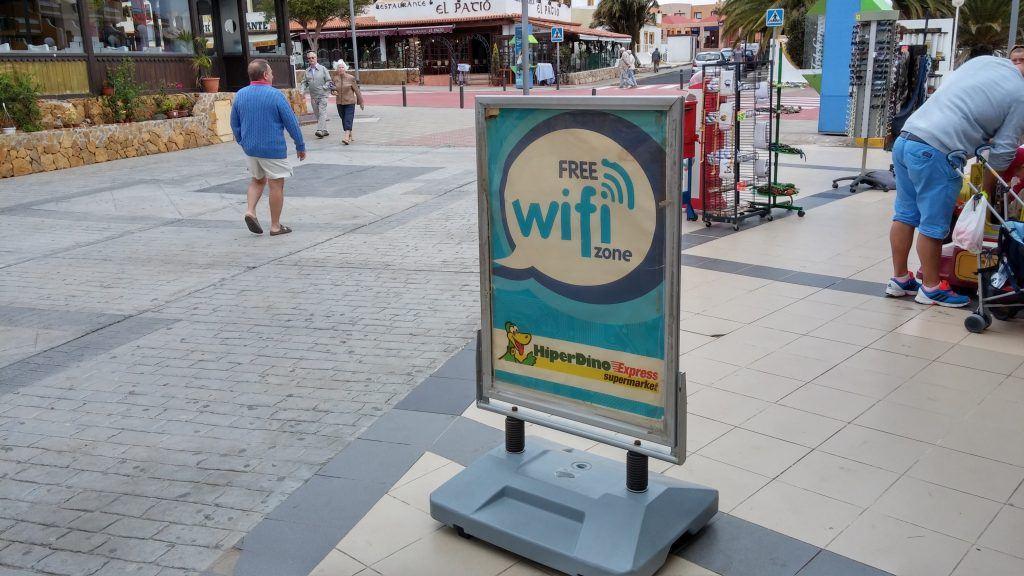 Roaming, rejse, Wi-Fi, netværk