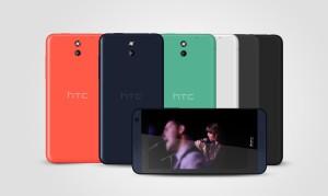 HTC Desire 610 i alle farvevarianter (Foto: HTC)