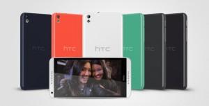 HTC Desire 816 i alle farvevarianter (Foto: HTC)