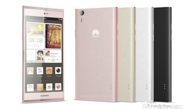 Huawei Ascend P7 (Kilde: Weibo.com)