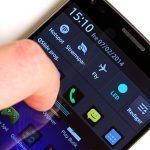 LG G Flex, smartphone, menu