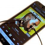 LG G Flex, musik