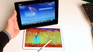 Samsung Galaxy Note 10.1 2014 Edition Asus Transformer Pad