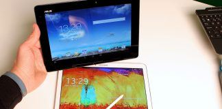Samsung Galaxy Note 10.1 2014 Edition Asus Transformer Pad