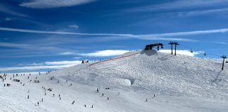 Ski, sne, is