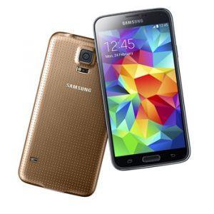 Samsung Galaxy S5 i guld (Foto: Samsung)