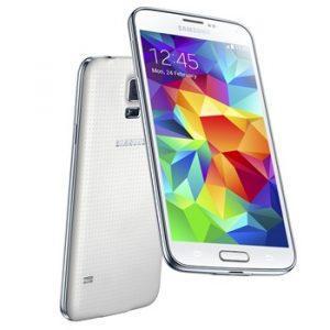 Samsung Galaxy S5 i hvid (Foto: Samsung)
