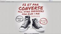 Tusindevis af danskere har modtaget en SMS, hvor de loves et par gratis Converse sneakers, men det kan koste dig dyrt.