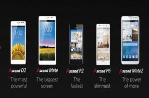 Huaweis 2013 smartphones