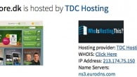 TDC Hosting har driftsproblemer, der har trukket Telmore.dk ned