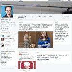 Twitter tester redesignet layout (Kilde: Mashable)